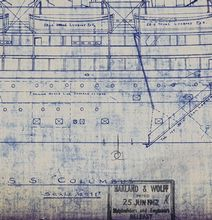 SS Columbus (Republic) Rigging Plan